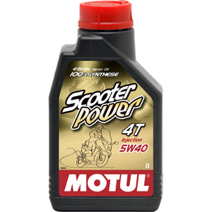 Scooter Power 5W40 4T semi-synthetic oil 1 litre