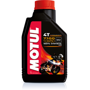 Fully synthetic 7100 10W50 4T oil 1 litre
