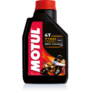 Fully synthetic 7100 15W50 4T oil 4 litres