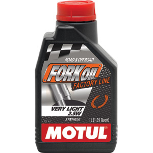 Factory Line very light 2.5W fork oil 1 litre