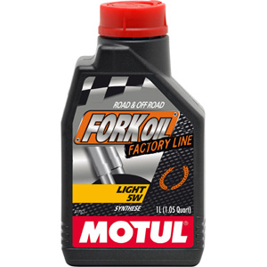 Factory Line light 5W fork oil 1 litre