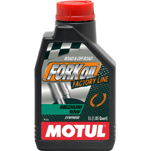 Factory Line medium 10W fork oil 1 litre