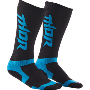 MX Socks S15 Youth blue / black
