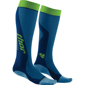 MX Cool Socks S16 blue / green US size 10 - 13