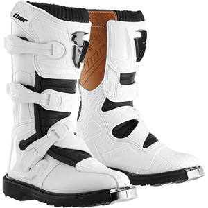 Blitz youth boot S14 white US size 4 (UK size 3)