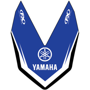 Front fender decal Yamaha YZ125 / 250 / 250F / 426F / 450F 06-09