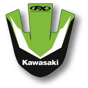 Front fender decal KX 85 / 100 14-17