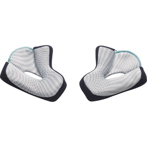 Verge cheek pads grey 35mm small & Large