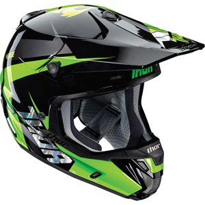 Verge S16 Helmet Rebound black / flo green large