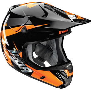 Verge S16 Helmet Rebound black / flo orange small
