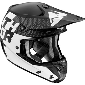 Verge S16 Helmet Tach black / white large