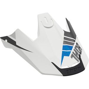Spare peak for Verge S16 Helmet Rebound white / grey