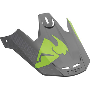 Spare peak for Verge S16 Helmet Tach grey / flo green