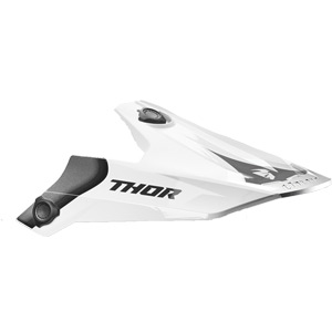 Spare peak for Verge S17 Helmet Vortechs white/grey