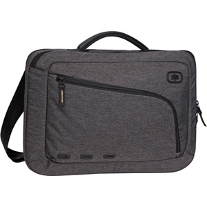 Newt Slim 15 inch Messenger Sleeve - Dark Static