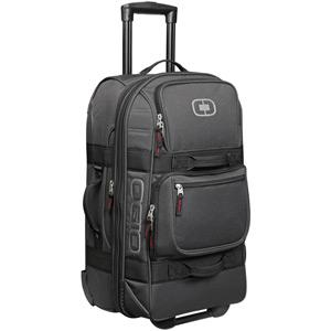 Layover wheeled travel bag - Black Pindot