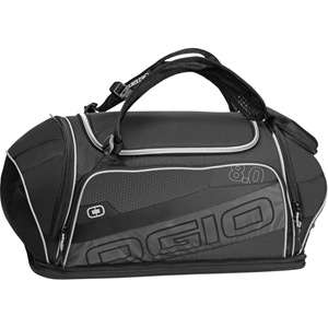 8.0 Endurance Kit Bag Black/Silver
