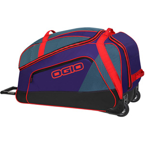 Big Mouth Wheeled Gear Bag - Tealio