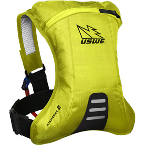Airborne 2 Hydration Pack With 2.0L Shape-Shift Bladder Crazy Yellow
