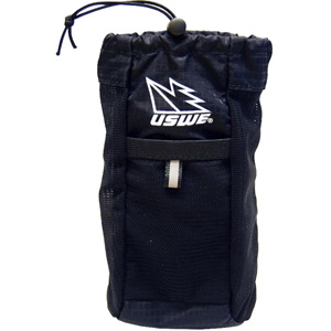 USWE Hydration Hydration Chest Pocket. Compatible With All USWE 4-Point Harnesses Black black