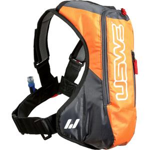 A2 Hydration Pack With 3.0L Shape-Shift Bladder Orange / Grey