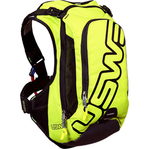 F6 Pro Hydration Pack 12L Cargo With 3.0L Shape-Shift Bladder Yellow / Black