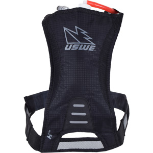 USWE Hydration H1 Racer Hydration Pack with 500ml Disposable Bladder Carbon Black black