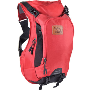 USWE Hydration Patriot 15 CB Pack Back Protector Hydration Ready Chilli Red red