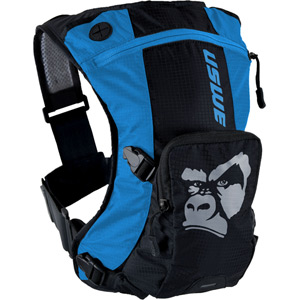 USWE Hydration Ranger 3 Hydration Pack with 2L Elite Bladder Blue Black blue/black
