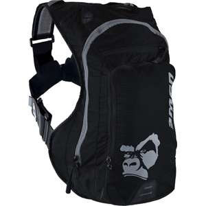 USWE Hydration Ranger 9 Hydration Pack with 3L Elite Bladder Black Black black