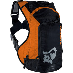 USWE Hydration Ranger 9 Hydration Pack with 3L Elite Bladder Orange Black oran/blk