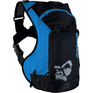 USWE Hydration Ranger 9 Hydration Pack with 3L Elite Bladder Blue Black blue/black