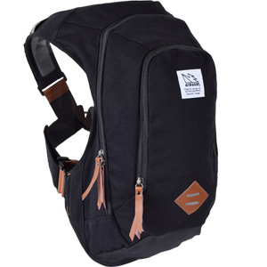 USWE Hydration Scrambler 16 Pack Hydration Ready Canvas Black black