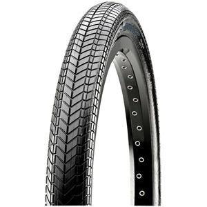 Maxxis Grifter 20x2.10 120 TPI Wire Dual Compound SilkShield tyre Black