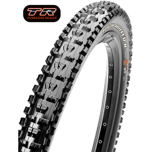 Maxxis High Roller II 27.5x2.8 60 TPI Folding Dual Compound EXO / TR tyre Black