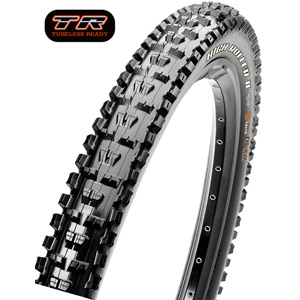Maxxis High Roller II 26x2.40 60 TPI Wire Single Compound tyre Black