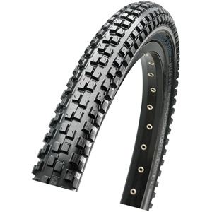 Maxxis MaxxDaddy 20x2.00 60 TPI Wire Single Compound tyre Black