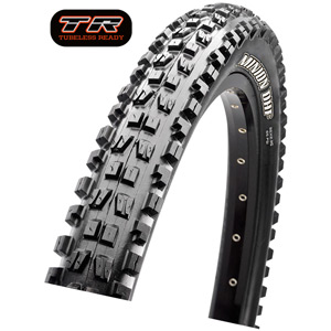 Maxxis Minion DHR II 27.5x2.40 60 TPI Wire Super Tacky tyre Black