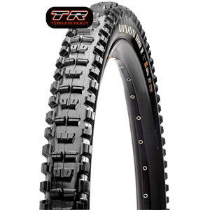 Maxxis Minion DHR II 27.5x2.8 60 TPI Folding Dual Compound EXO / TR tyre Black