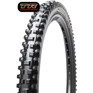 Maxxis Shorty 26x2.40 60 TPI Wire Super Tacky tyre Black