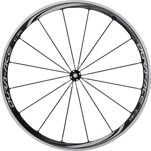 WH-9000-C35-CL Dura-Ace wheel, carbon laminate clincher 35 mm, front