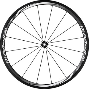 WH-9000-C35-TU Dura-Ace wheel, carbon tubular 35 mm, pair