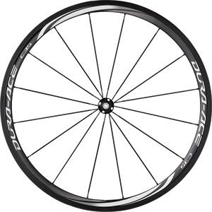WH-9000-C35-TU Dura-Ace wheel, carbon tubular 35 mm, front