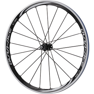WH-9000-C35-CL Dura-Ace wheel, carbon laminate clincher 35 mm, 11-speed, rear