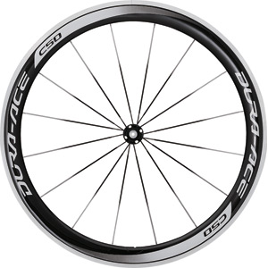 WH-9000-C50-CL Dura-Ace wheel, carbon clincher 50 mm, front