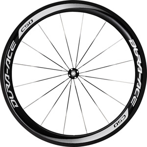 WH-9000-C50-CL Dura-Ace wheel, carbon clincher 50 mm, pair