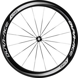 WH-9000-C50-CL Dura-Ace wheel, carbon clincher 50 mm, pair