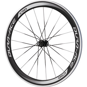 WH-9000-C50-CL Dura-Ace wheel, carbon clincher 50 mm, 11-speed, rear