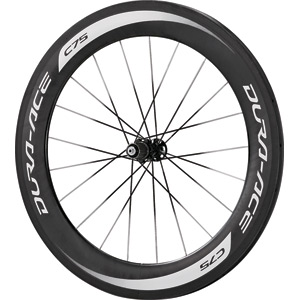 WH-9000-C75-TU Dura-Ace wheel, carbon tubular 75 mm, 11-speed, rear