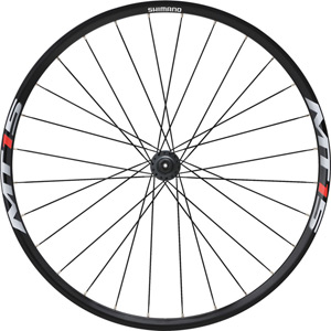 WH-MT15 XC wheel, Q/R 100 mm axle, 26in clincher, black, front